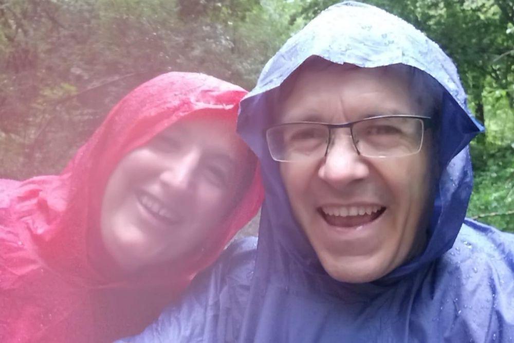 Toni y julia camino a cal'Amat
